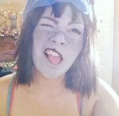 i kind of hope my meowrail doesnt find this account... shhh h33h33 ;DD                #nepeta #cosplay #shittycosplay #homestuck #nepetacosplay #homestuckcosplay #costest #trash #makeup #cosplaymakeup #nepetaleijon #leijon