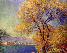 Claude Monet - Antibes Seen from the Salis Gardens 2, 1888