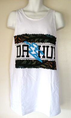 Da Hui Hawaiian tank tops