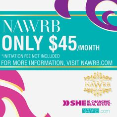 Online >> NAWRB Proudly Welcomes It's Newest Members