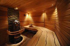 Suomen Tervaleppä - 20 years of high quality Finnish Sauna Design - Gallery Basement Sauna, Sauna Room, Saunas, Sauna Lights, Jacuzzi Room, Sauna House, Portable Sauna, Natural Swimming Pools, Natural Pools