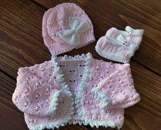Baby Knitting Pattern  Girls Download PDF by PreciousNewbornKnits