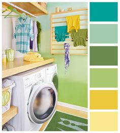 color combination maybe these colors for the playroom.. ? ...
