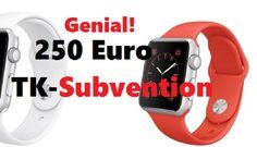 Apple Watch: TK-Gesundheitsdividende bezuschusst Kauf mit bis zu 250 Euro!!! - https://apfeleimer.de/2015/09/apple-watch-tk-gesundheitsdividende-bezuschusst-kauf-mit-bis-zu-250-euro - Das sind mal richtig gute Neuigkeiten für alle Mitglieder Deutschlands größter Krankenkasse. Die TK bezuschusst jetzt doch den Kauf einer Apple Watch. Und das nicht zu knapp: bis zu 250 Euro spendiert Euch die Kasse in Einzelfällen. Bei ca. 400 Euro-Einstiegspreis eine nicht zu verachtende S