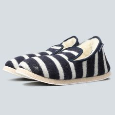 d235023cb2a Armor-Lux - Breton Slippers - Navy   Nature