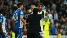 Ronaldo suffers nasty bloodied cut to the head