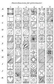 #zentangle patterns for beginners