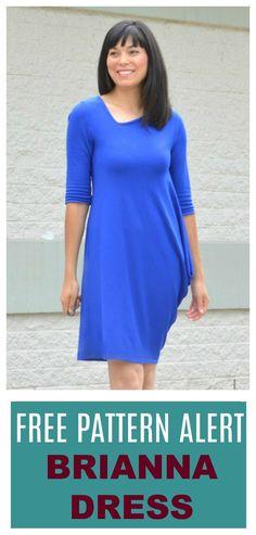 FREE PATTERN ALERT Size US16 The Brianna Dress Pattern. Lear…
