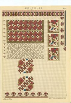 Folk Embroidery, Embroidery Patterns, Cross Stitch Patterns, Romania, Bohemian Rug, Balloons, Projects To Try, Lily, Costumes