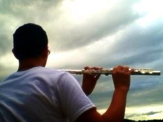 My flute and me Music Is Life, Flute, Violin, Music Instruments, Pictures, Photos, Flutes, Tin Whistle, Drawings