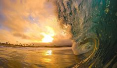 """""""Power and Beauty colliding... brought to you by Mother Nature."""" Photo & caption by Reggie Abbott."""