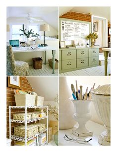 1000 images about cute office ideas on pinterest home for Cute home office ideas