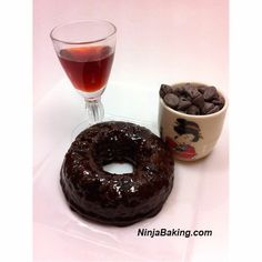 Manischewitz, Cranberry Double Holiday Donuts, #SundaySupper | Ninja Baking  #blogherholidays