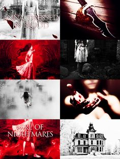 Anna Dressed in Blood/Girl of Nightmares by Kendare Blakd