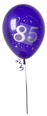 85th Birthday Themes