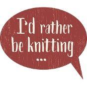 Knitting Signs
