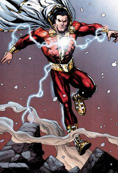 What we know about the DC Comics Upcoming Shazam Movie. Including roles that have been cast, possible villains and possible plots. Shazam Comic, Shazam Dc Comics, Arte Dc Comics, Dc Comics Superheroes, Dc Comics Characters, Original Captain Marvel, Captain Marvel Shazam, Marvel Dc, Comic Book Heroes