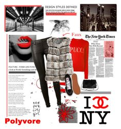 """""""New York Fashion"""" by joannahdawn ❤ liked on Polyvore featuring Trademark Fine Art, AG Adriano Goldschmied, Emilio Pucci, Calypso St. Barth, Vans and Torrid"""