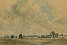- 1951 Watercolour Vernon Southward 1911-1981 Landscape Elegant In Style