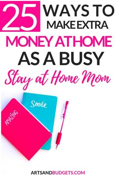 Are you currently looking for ways to make money while you stay at home? If so, chekc out this post which shares 25 Easy Work From Home Jobs. Make Money Blogging, Make Money From Home, Money Saving Tips, Way To Make Money, How To Make, Money Tips, Work From Home Opportunities, Work From Home Jobs, Legitimate Work From Home
