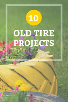 Repurposing old tires not only helps the environment, you can make something really cool in the process.: http://www.unclebobs.com/blog/diy/reuse-old-tires/
