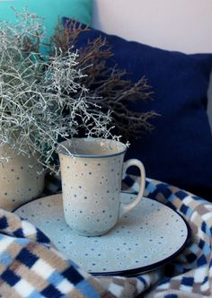 Handmade Polish Pottery from ELIMAshop.cz . Winter collection .