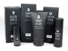 HYD for Men Shaving and Skincare Products Review - Click! #HYDforMen