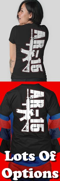 Gun Rights Shirt: Do You Support Gun Rights? AR-15 Gun Shirt! Great Gun Rights Gift! Lots Of Sizes & Colors. Like Gun For Protection, 2nd Amendment and Gun Rights Shirts? Strict Limit Of 5 Shirts! Treat Yourself & Click Now! https://teespring.com/SW33-428