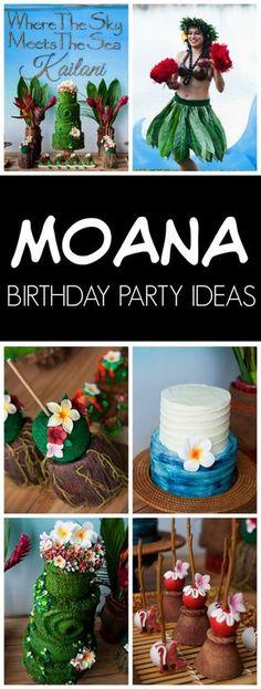 Disney Moana Birthday Party   Pretty My Party
