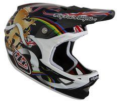 Troy Lee Designs D3 Steve Peat Helmet 12 Image