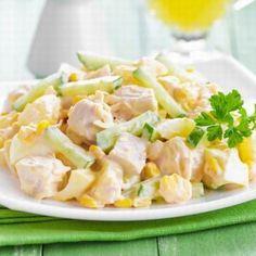 Salad Lunch Box, Portugal, Tropical, Pasta Salad, Poultry, Potato Salad, Potatoes, Ethnic Recipes, Food