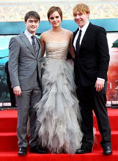 July 7, 2011  At the Harry Potter and the Deathly Hallows: Part II premiere in London's Trafalgar Square