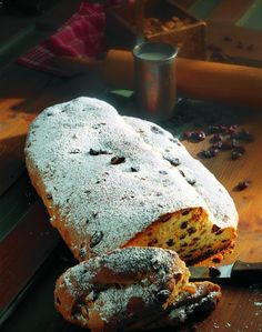 Christmas Stollen Recipe. (Is it weird that I pinned it because I like ...