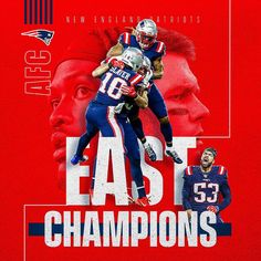 Kings of the east. Kings of the east. More from my siteFinal from NE. Patriots- 24 Bills- 17 With the win, the Patriots clinch the AF…Tweakin at the end … New England Patriots Football, Patriots Fans, Boston Sports, Nfl Sports, Go Pats, Fantasy Football, New York Mets, Tom Brady, Afc Nfl