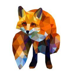 artist Kamilla Marant  #fox