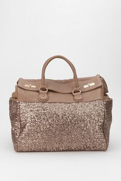 Urban Outfitters - Deux Lux Sequin Weekender Bag on Wanelo