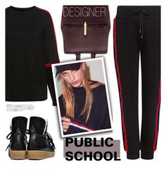 """""""Designer: PUBLIC SCHOOL"""" by ifchic ❤ liked on Polyvore featuring Public School, Karen Walker, Ganni and contemporary"""