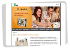 Digi Delious  Delious is a system that provides total solution for the food and beverage industry. The website is implemented with content management system. The user is able to update website on the backend system. #Singapore