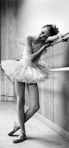 Patricia Craig at Barre,Children's Ballet Company ,Bob Willoughby; 1953