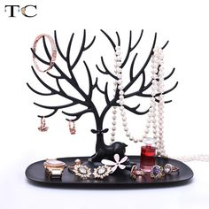 Little Deer Bracelet Ring Storage Tree Shelf Stand Holder Jewelry Organizer Gift #LittleDeerChina