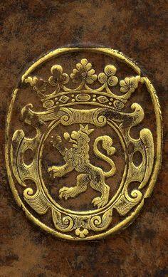 """Nicolas-Joseph Foucault, 1643-1721. Avocat et maître des requêtes, il fut intendant de Montauban en 1674, de Pau en 1684, de Poitiers en 1685 et de Caen en 1689-1706. Membre de l'Académie des inscriptions et belles-lettres. -- """"de sable au lion d'argent, armé et lampassé de gueules et couronné d'or""""."""