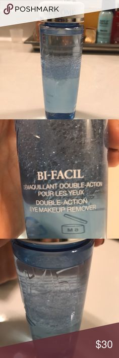 Top-selling Lancôme Bi-Facil eye makeup remover Brand new never used 4.2 oz. one of Lancones best sellers! Free gift too! Lancome Makeup