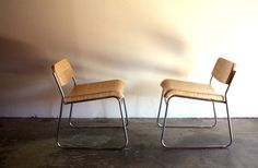 Reclaimed 'Rups Chairs // Modern Seating // Dining by weareMFEO