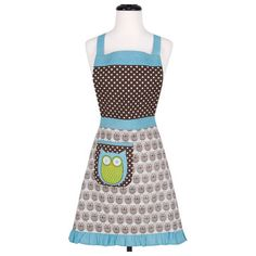 Hoot Stuff Full Apron, $15.50, now featured on Fab. I just bought it, hope it would be as gorgeous as it seems in here!!!