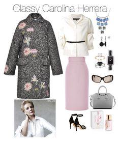 """Oh, Carolina!"" by kikikoji on Polyvore featuring Chanel, Ice, Carolina Herrera, Isabel Marant, Givenchy, Blumarine, Kenneth Cole, women's clothing, women and female"
