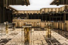 Maxx Royal Kemer by Geomim, Antalya Turkey hotel hotels and restaurants H Design, Cafe Design, Retail Interior, Interior And Exterior, Antalya, Visual Merchandising, Piscina Interior, Jewelry Store Design, Bar Design Awards