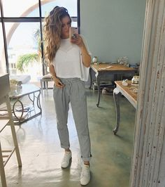 Comfy Pants, Office Outfit! Fashion & Style