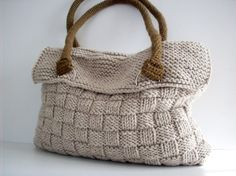 Everyday Knitted Bag