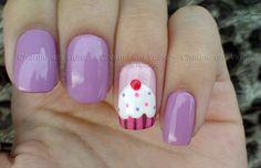 #nail#cupcake