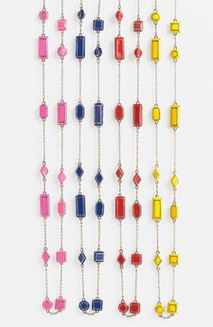 kate spade new york 'jewelbar' long station necklace - was $99 now $65
